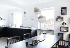 Dejligt stort og åbent køkken