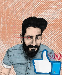 500 amores. by Augustus John, via Behance