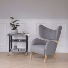 Danish design brand By Lassen is the latest company to reissue classic furniture, with a new edition of a chair designed by architect Flemming Lassen 80 years ago.