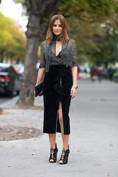 Street Style: Paris Fashion Week Spring outfit and shoes! Office Outfits, Night Outfits, Chic Outfits, Fashion Outfits, Style Fashion, Workwear Fashion, Spring Outfits, Ootd Fashion, Winter Outfits
