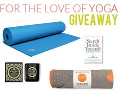 Awesome yoga giveaway for February!