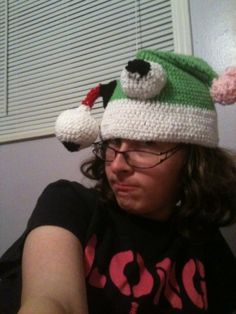 zombie crochet hat 400x533 100 Unique Crochet Hats
