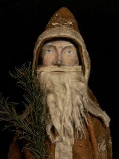 Daryl McMahon...wonderful photo and beautiful handmade Santa...