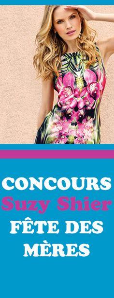 Concours Suzy Shier – forfait Fête des Mères. Fin le 3 mai.  http://rienquedugratuit.ca/concours/suzy-shier-fete-des-meres/