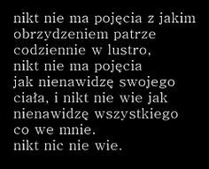Znalezione obrazy dla zapytania gify na tumblr smutne Sad Quotes, Words Quotes, Sayings, Only Song, Dark Love, Good To Know, Quotations, Depression, Texts