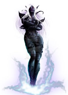 Drow Mage by Herisheft.deviantart.com on @deviantART