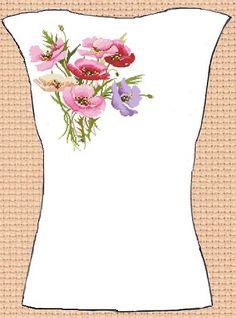Вишиванки для установ та організацій.  Заготовка для вишивки жіночої ... 75bdda979da6b