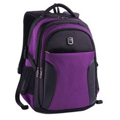 LAPTOP BAG DOUBLE-SHOULDER MALE HIGH SCHOOL STUDENTS LARGE CAPACITY MULTIFUNCTIONAL BACKPACK PURPLE - Click image twice for more info - See a larger selection of boys teens backpacks - kids, boys, little boys, school supplies, kids fashion , teenager, bags.
