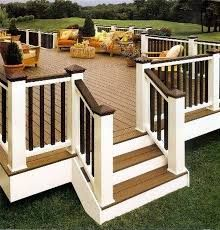 Image result for deck stairs design ideas