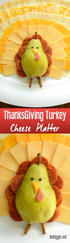 Turkey Cheese platte