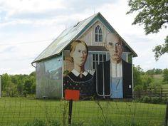Grant Wood Barn