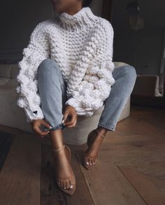 93e1ea414527 505 Best Chunky Sweaters. images in 2019