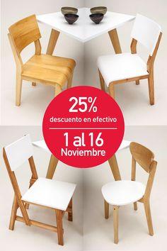 #Sillas 25% OFF del 1 al 16 de Noviembre.  Muchas más en www.unimate.com.ar
