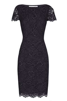 DVF Ainsley Corded Lace Dress | Landing Pages by DVF