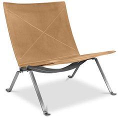 PY22Lounge Stuhl - Hochwertiges Leder