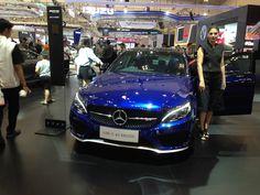 Mercedes C43 AMG in GIIAS 2017