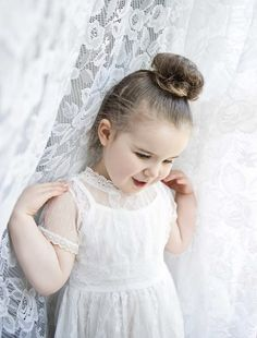 Children & Family Portrait Photography by Jo Frances Wellington - Whimsical photo of girl in white dress by lace curtain, by Jo Frances Studio Photos, Photo Studio, Child Portraits, Family Portraits, Family Portrait Photography, Lace Curtains, Children And Family, Girl Photos, Whimsical