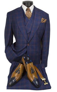 Mens Fashion Wear, Gents Fashion, Best Mens Fashion, Suit Fashion, Fashion Menswear, African Clothing For Men, African Men Fashion, Mens Clothing Styles, Mens Dress Hats