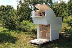 Фото: Компактные и уютные загородные домики (фото)