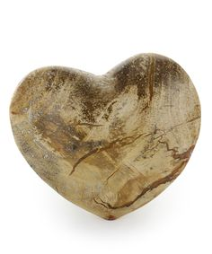 Bliss Mineral Collection Petrified Wooden Heart 3
