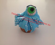 Muffin terrorífico con pepitas de chocolate!!