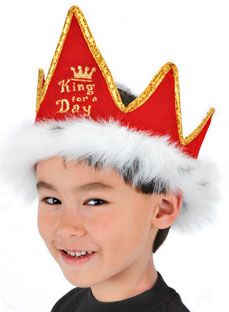 4a9dcfbe1ba Our red king crowns are available for wholesale. Get your novelty crowns  for kids and adults at Elope