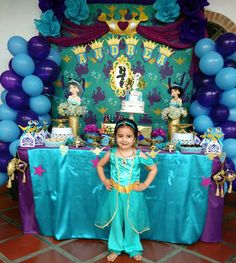 Aladdin Birthday Party Circus 4th Parties 2nd