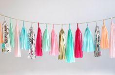 confetti system Tassel Garland-Bright Multicolor