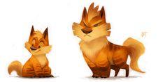 Explore the Cryptid-Creations pokemon collection - the favourite images chosen by Brunobakugan on DeviantArt. Pokemon Fan Art, Cool Pokemon, Pokemon Realistic, Cute Creatures, Fantasy Creatures, Pokemon Especial, Little Poney, Character Illustration, Cute Art