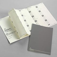 Flex 2012 Fold-Out Planner