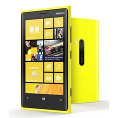 "Mobile & smartphone Nokia Lumia 920 Jaune Smartphone 4G-LTE avec écran tactile 4.5"" PureMotion HD+ sous Windows Phone 8 #smartphonenokia"
