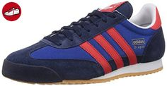newest 409b0 cf49d adidas Dragon, Herren Sneakers, Blau (Collegiate Navy Red Collegiate Royal)