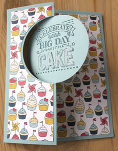 Stampin Up Thinlits Circle Card - Patio Party and Big Day SAB 2015  AvT - Auriette van Tastik