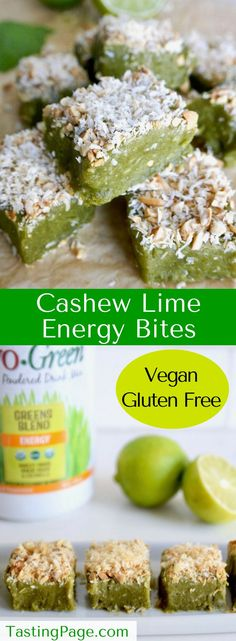 No bake cashew lime