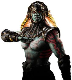 """Kotal Kahn is the current Emperor of Outworld in the Mortal Kombat fighting game series, who made his debut in Mortal Kombat X. Kotal Kahn is a warrior from the realm of Osh-Tekk, which was once ruled by Kotal K'etz, his father, but was later merged with Outworld. As an Osh-Tekk, he is the last of his kind, however, he was considered a god among the Mayans, who named him """"Buluc"""", their god of war (The full name given being Buluc Chabtan). He became the ruler of Outworld, ever since he..."""