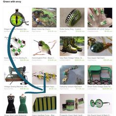 Green With Envy....On 3 Designs by Julie Lange Clutch