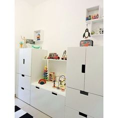 - Ikea DIY - The best IKEA hacks all in one place Ikea Stuva, Kids Room Organization, Toddler Rooms, Toy Rooms, Kids Storage, Kids Room Design, Kid Beds, Kids Furniture, Girl Room