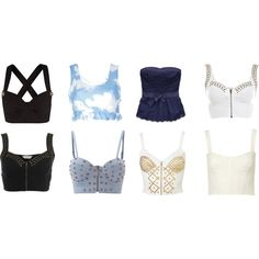 Tops, created by slor on Polyvore
