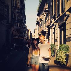 The beautiful Sugg siblings in Italy.