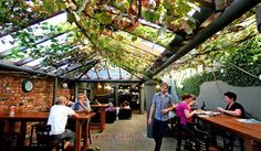 beer garden roofs - Google Search