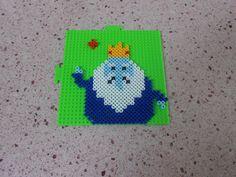 Ice King Adventure Time Perler Beads by KakashiLover10 on deviantart