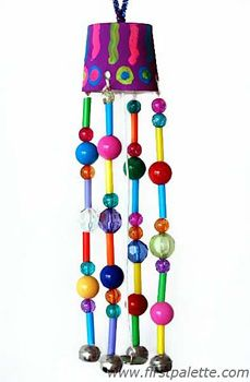 homemade wind chimes | Things to Make and Do, Crafts and Activities for Kids - The Crafty ...