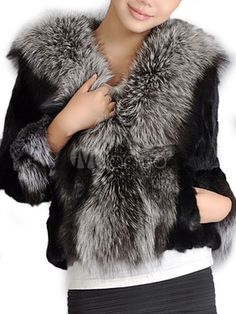 Black Faux Fur Jacket for Women - Save Up to 70% Off on fabulous fashion trend products at Milano with Coupon and Promo Codes.
