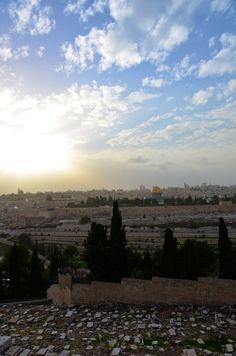 Mount of Olives. #Jerusalem
