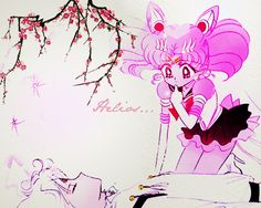 Manga Coloring: Sailor Moon: Helios and Chibiusa by bakaprincess85 on DeviantArt