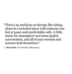 Friendly therapy. [Beau Taplin]