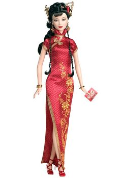 2005 Barbie Collector Dolls Of The World Festivals Of The World Chinese New Year Doll