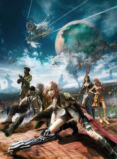 Final Fantasy XIII... I've only tried the PSN demo, and now I want to play the whole game! =(