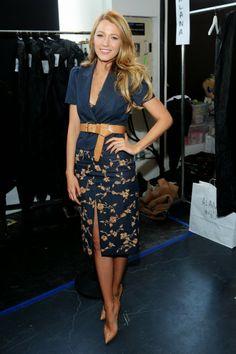 Blog de la Tele: Naya Rivera y Blake Lively deslumbran en Semana de la Moda NY