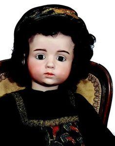 Rare et exceptionnelle poupées d'artiste par le sculpteur Albert MARQUE,